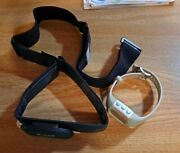 Polar Wearlink 31 Coded Transmitter W Strap With Polar Ft-4 Monitor For Parts