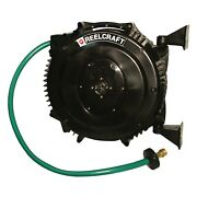 Reelcraft Swa3850 Olp Spring Retractable Composite Reel - 5/8 In. X 50 Ft. Water