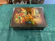 Large Russian Lacquer Box 1998 Mint