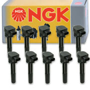 10 Pcs Ngk 49014 Ignition Coil For U5303 178-8446 E961 36-8066 Ic561 49014 Kn