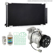 For Toyota Camry 2007 2008 2009 A/c Kit W/ Ac Compressor Condenser And Drier Tcp