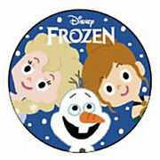 Disney Frozen Collectibles Can Badge Sisters And Olaf 705763 No Wrapping