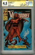 Avengers 57 Cgc Ss 4.5 Ss Stan Lee 1st Vision Mexican Edition 1982 Wandavision