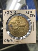 1938 Northwestern Territory Expedition Ohio Country Token Coin Medal