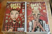 Sweet Tooth 1 2 3 4-40 1st Print Complete Lot Run Vf-nm High Grade Free Shipping