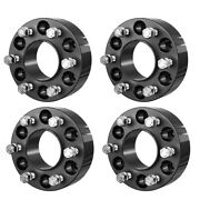4 2 6x135 Wheel Spacers Adapters For Ford F-150 Expedition +24 Spline Lug Nut