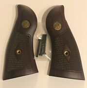 Sandw N Frame Square Butt Super Rosewood Checkered W/medallions Classic Panel