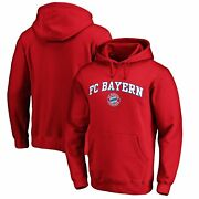 Bayern Munich Fanatics Branded Heart And Soul Pullover Hoodie - Red