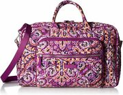 Vera Bradley Womenand039s Signature Cotton Compact Weekender Travel Bag