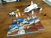 100 Complete Lego City Mars Research Shuttle Space Ship 60226 W/instructions