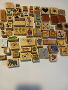 Rubber Craft Stamp Collections Mixed Lots