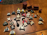 Lego Pirates Of The Caribbean Minifigures And Accessories Lot