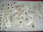 Lot 65 Cross And Crown System Sunday School Pins 10kt Gf Gold Silver Plated Church