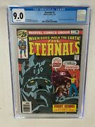 The Eternals 1 Cgc 9.0 White Pages