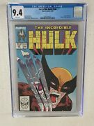 Incredible Hulk 340 Cgc 9.4 White Pages