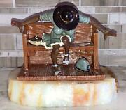 Ron Lee 1996 Sculpture Of Annie Lee's Holy Ghost Black Americana Painting Rare