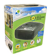 Germguardian 3 In 1 Table Top Air Cleaning System - Ac4010 Hepa Uv Odor Filter