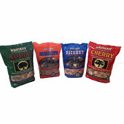 Bbq Smoking Wood Chips Meat Smoker Grill Barbecue Fire Cooking Variety 4-pack