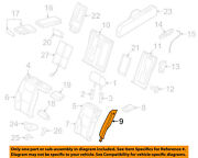 Audi Oem 08-11 A5 Quattro Rear Seat-seat Back End Right 8k0885704aes49