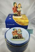 Goebel Hummel Limited Edition A Star For You In Original Box And Collectible Tin