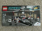 Lego Speed Champions 75911 Mclaren Mercedes Pit Stop New Sealed - Box Has Wear