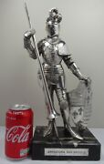 Silver 925 Figure Of A Knight 1900and039s