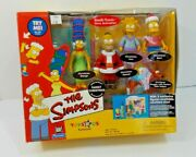 The Simpsons Toys R Us Exclusive Interactive Family Christmas Environment Figure