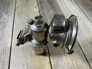 Antique Bicycle Carbide Lamp Lantern Panther Ph Bandrsquoham Used Untested Vintage