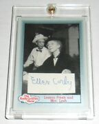 Ellen Corby Mrs Lesh The Andy Griffith Show Autograph Signed Trading Card