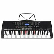 Joy 61 Lighted Keys Keyboard With Usb Music Player Function Kl-91m