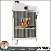 Radiator For John Deere M Mt 40 320 330 Tractor Non Pressurized Am639t Am1771t