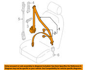 Audi Oem A8 Quattro Front Seat Belt Buckle-retractor Assy Right 4h0857706v04