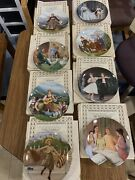 The Sound Of Music Knowles Collector Plates Complete Set Of 8 Coa And Boxes