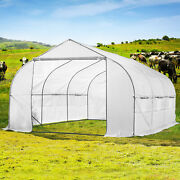 11ft Portable Walk-in Garden Greenhouse Outdoor Green House 11' L X 10' W X 7' H