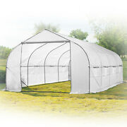 20ft Portable Walk-in Garden Greenhouse Outdoor Green House 20and039 L X 10and039 W X 7and039 H