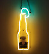 Corona Extra Neon Light Beer Bar Shop Eye-catching Wall Real Glass Neon Signs