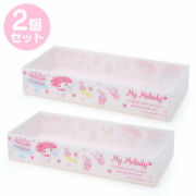 My Melody Storage Container Box S Set Stacking Case Sanrio Kawaii 2021 New