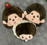 Monchhichi Face Cushion Boy Girl Baby 44cm And 32cm And 28cm