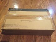 """Pampered Chef Stainless Steel Saute 10"""" Pan 2887 Oven Safe 500°f Nib Retired"""