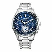 Citizen Exceed Eco-drive Cc4030-58l Yell Collection Solar Radio Men's Watch New