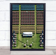 Seating Seats Chairs Tables Lawn Aerial Chair Seat Above Wall Art Print