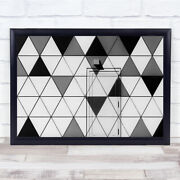 The Door Without Handle Sports Hall Triangle Lent Graphic Wall Art Print