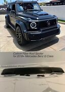 Brabus Style Carbon Fiber Roof Spoiler With Leds For 2019+ Mercedes Benz G Class