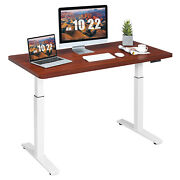 Costway Electric 55x28 Standing Desk Sit To Stand Workstation Dual Motor