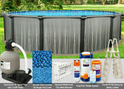 24'x52 Boreal Round Above Ground Swimming Pool Package