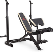 New Olympic Bench With Leg Developer And Squat Rack Bench Press Muscle Training