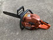 Used Running Husqvarna 340 Chainsaw With 16andrdquo Bar And Chain