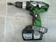 Hitachi Cordless Drill Ds18dl W/ Battery
