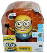 Minion Bob Collectorand039s Edition Talking Action Figure Toys R Us Exclusive