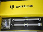 Whiteline Adjustable Rear Control Arms Fit 02-07 Subaru Wrx 98-08 Forester - New